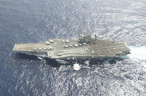 011218-N-0271M-002 USS Kitty Hawk -