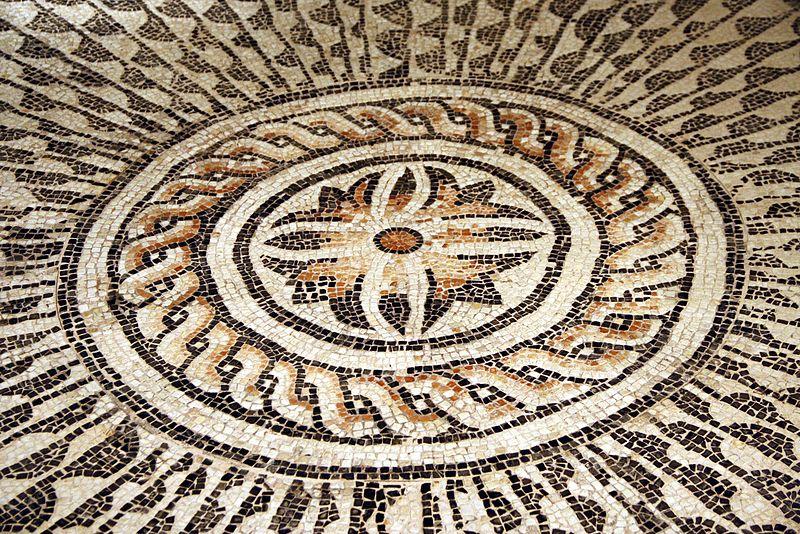 File:0408 - Museo archeologico di Milano - Mosaico romano, secc. II-III d.C. - Foto Giovanni Dall'Orto, 13 Mar 2012.jpg