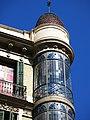 050 Cases Salvador Andreu, c. Gran de Gràcia 74-76 (Barcelona), tribuna cantonera.jpg