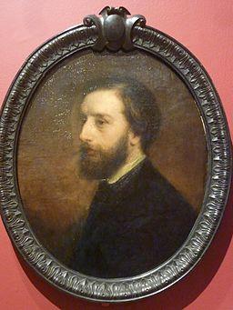 063 Gustave Ricard Portrait de l'artiste