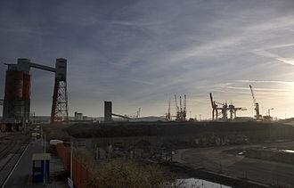 Avonmouth Docks - Image: 070310 uk bristol avonmouthdocks