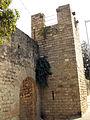 081 Monestir de Pedralbes, accés nord des del c. Montevideo.jpg