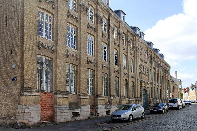 File:0 Saint-Omer - Ancien Collège des Jésuites Anglais et actuel Lycée Ribot (1).JPG