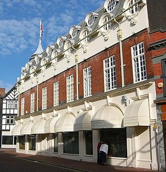 1–5 Pillory Street, Nantwich - Pillory Street façade