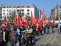 1. Mai 2013 in Hannover. Gute Arbeit. Sichere Rente. Soziales Europa. Umzug vom Freizeitheim Linden zum Klagesmarkt. Menschen und Aktivitäten (104).jpg