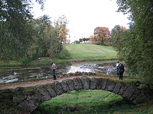 1. Pavlovsk Park. The bridge at the Colonnade of Apollo..JPG, автор: Александров
