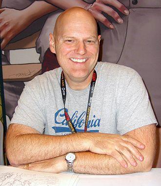 Erik Larsen - Larsen at the 2011 New York Comic Con