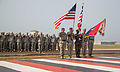 101st Airborne Division cases colors, heads home after successful mission in Liberia 150226-A-BO858-010.jpg