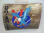 107 Squadron RAF Blenheim nose art at Bomber Command Museum Canada Flickr 3243593534.jpg