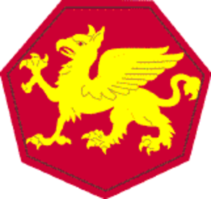 108th Training Command (Initial Entry Training) - 108th Division shoulder sleeve insignia
