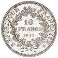 10 French francs Hercule 1967 F364-6 reverse.jpg