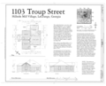 1103 Troup Street (House), 1103 Troup Street, La Grange, Troup County, GA HAER GA,143-LAGR,38- (sheet 1 of 1).png