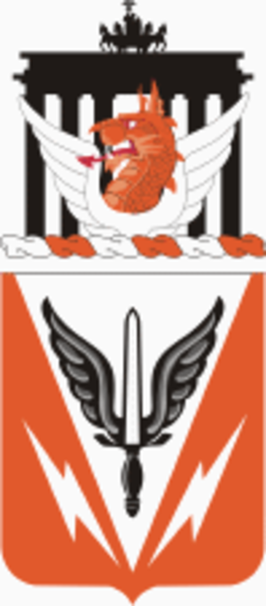 112th Special Operations Signal Battalion - 112th Signal Battalion coat of arms