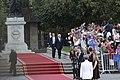 11 Marzo 2018, Ministra Cecilia Perez participa en la llegada del Prdte. Sebastian Piñera a La Moneda. (40046375574).jpg