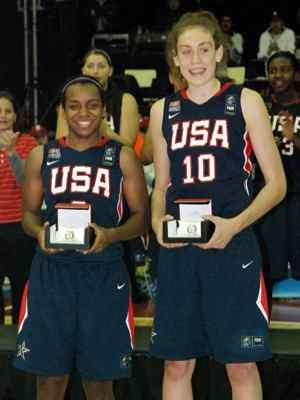 United States women's national under-19 basketball team - Ariel Massengale and Breanna Stewart, two of the five member named to the five-member All-FIBA U19 World Championship Team