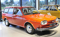 VW 411 Variant (1970)