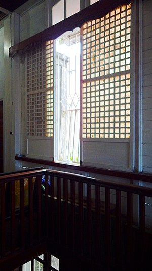 Windowpane oyster - Capiz Windows, is an important icon on the Culture of the Philippines