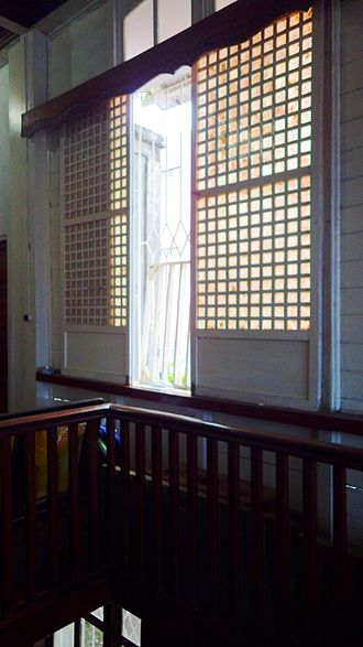 Windowpane oyster - Capiz windows, an important icon of the culture of the Philippines.