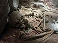124 Parc arqueològic de les Mines de Gavà, reconstrucció d'una mina.JPG
