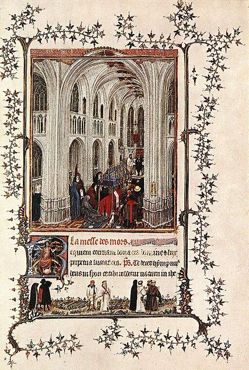 14th-century painters - Page from the Très Belles Heures de Notre Dame de Jean de Berry - WGA16015