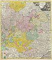 1720 Homann Map of Franconia, Germany ( Bavaria, Bamberg, Würtzburg, Nuremberg ) - Geographicus - Franconiae-homann-1720.jpg