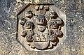 1724 circa Wappen von Anna Catharina von Offen auf dem Doppelgrabstein mit Christian Friedrich von Harling, Neustädter Hof- und Stadtkirche, Hannover.jpg