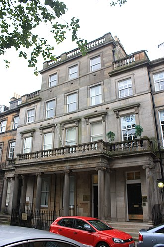 James Sinclair, 14th Earl of Caithness - The Earl's Edinburgh rownhouse at 17 Rutland Square