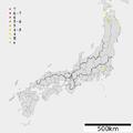 1843 Tenpo Tokachi earthquake intensity.png
