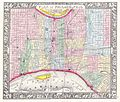 1860 Mitchell's Street Map of Philadelphia - Geographicus - Phili-m-60.jpg