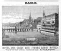1885 Hotel Trois Rois Basle ad Harpers Handbook for Travellers in Europe.png