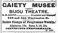 1888 Gaiety BijouTheatre BostonDailyGlobe Nov13.png