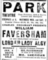 1903 ParkTheatre BostonEveningTranscript December31.png