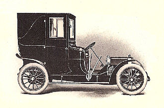 Coupe de Ville - 1908 Thomas 4-20 town car