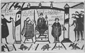 1911 Britannica - Bayeux Tapestry - Coronation of Harold.png