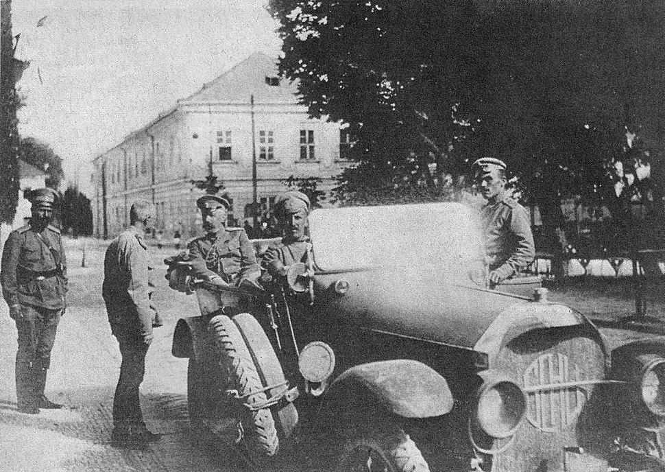 1915 Брусилов и в.кн.Георг.Михайлович