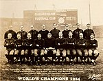Promotional picture from the 1924 Bears team.