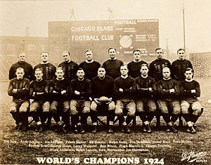 Chicago Bears - The 1924 team photo