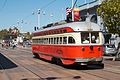 1948 Boston Elevated Railway Streetcar running on San Francisco Muni.jpg