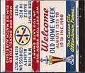 1950 - Old Home Week - Matchcover - Allentown PA.jpg