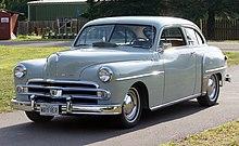 a 1950 dodge wayfarer two-door sedan