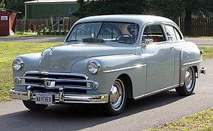 Dodge Wayfarer - A 1950 Dodge Wayfarer two-door sedan