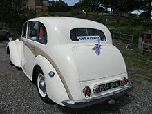 1952 Daimler DB18 Consort rear.jpg