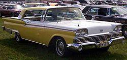 Ford Galaxie 2 Door Hardtop 1959
