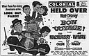 1962 - Colonial Theater Ad- 10 Jul MC - Allentown PA.jpg