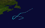 1965 Atlantic tropical storm 4 track.png