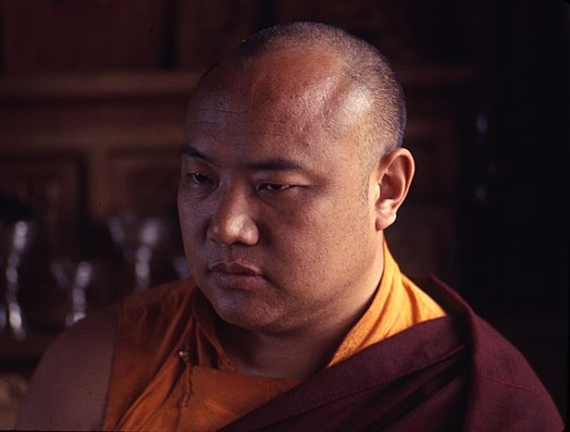 1965 photo of Karmapa in Sikkim by Dr. Alice S. Kandell 1965 photo detail, Karmapa, religious leader of Sikkim (cropped).jpg