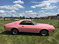 1968 AMC AMX Playmate of the Year Pink at 2015 AMO meet-14.jpg