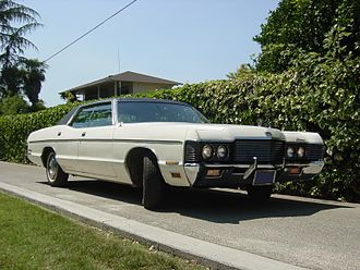 Mercury Monterey - 1971 Mercury Monterey 4-door hardtop