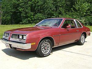 Pontiac Sunbird - 1978 Pontiac Sunbird Sport coupe