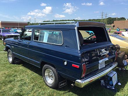 Jeep Cherokee (SJ) - Wikiwand